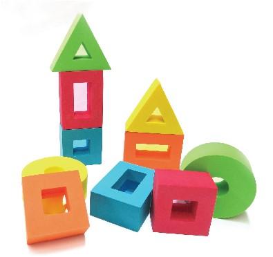 Edushape Color Window Blocks - NEW