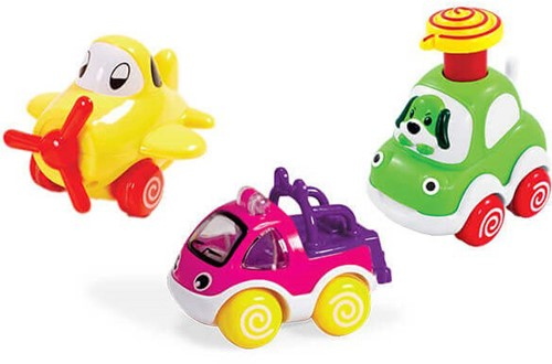 Edushape Push 'n Pull Racers Trio