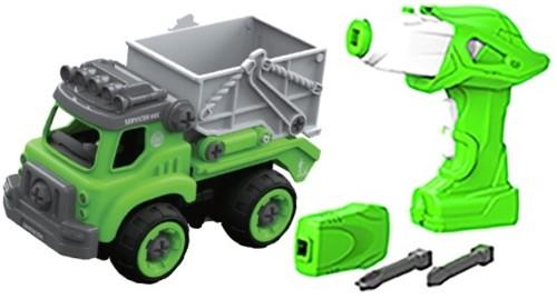 Edushape Doe-Het-Zelf Truck + afstandsbediening (op batterijen) sanitair