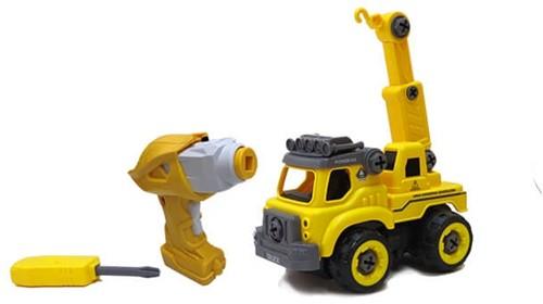Edushape Doe-Het-Zelf Truck + Afstandsbediening (op batterijen)
