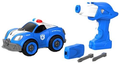 Edushape doe-het-zelf Truck + afstandsbediening (op batterijen) Politie