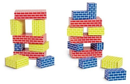 Edushape kartonnen blokken - 36 stuks