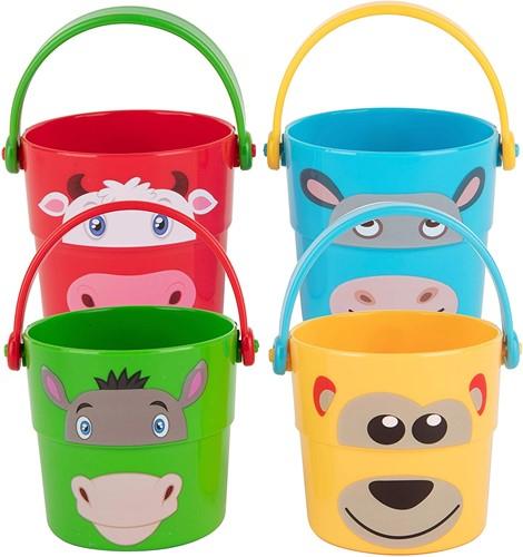 Edushape Happy-face Stacker Buckets