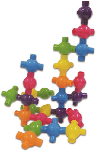 Edushape Kiddy-verbindingen - 36 stuks (Pot)