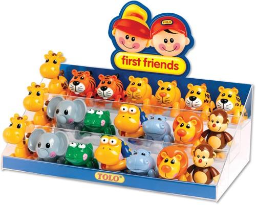 Tolo Toys Display - Safari Animals starter pack 2