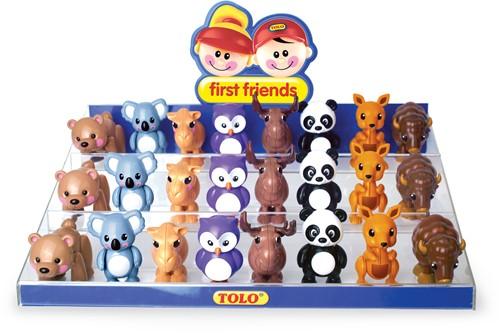 Tolo Toys Display - Animals of the World starter pack 1