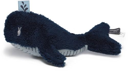 Snoozebaby knuffeltje Wally Whale - Midnight Blue