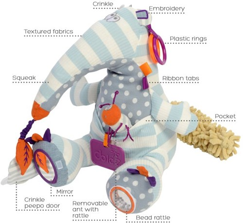 Dolce Toys Anteater