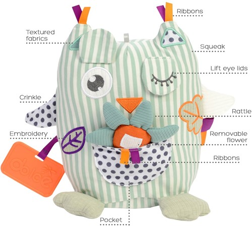Dolce Toys Activity Owl