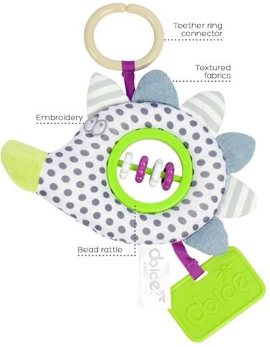 Dolce Toys Hangende Activiteiten Egel