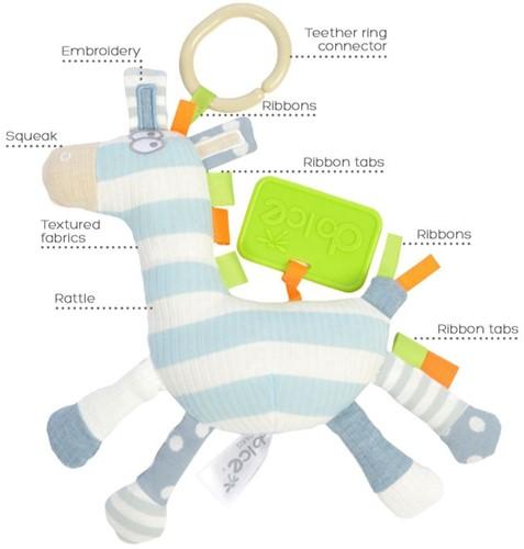 Dolce Toys Hangende Activiteiten Zebra