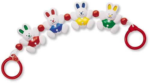 Tolo Toys Little Rabbits Pram Toy