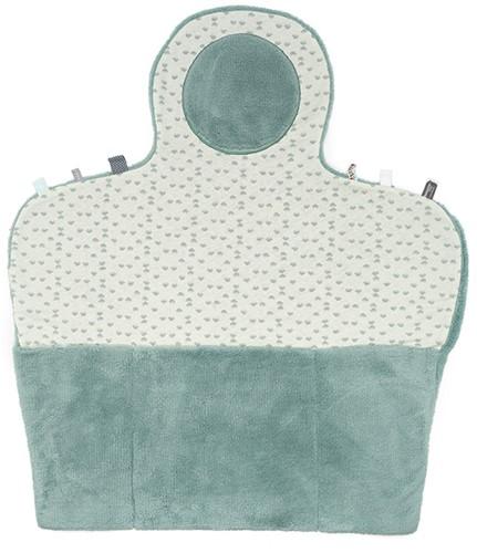 Snoozebaby luierverkleedmat (Easy Changing) - Gray Mist