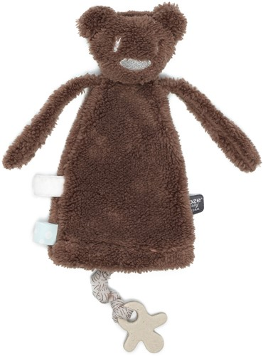Snoozebaby knuffeltje/handpopje Maddy Monkey - Muddy River