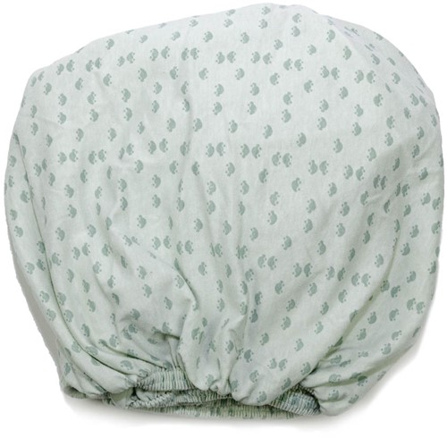 Snoozebaby 2-pack: Fitted Sheet Gray Mist + Bumble 60x120cm -