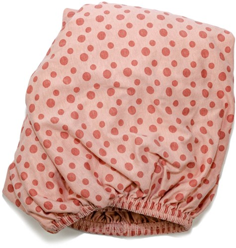 Snoozebaby 2-pack: Fitted Sheet Dusty Rose + Bumble 60x120cm -