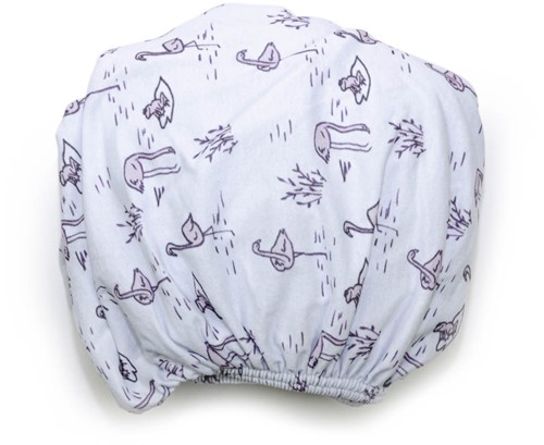 Snoozebaby 2-pack: Fitted Sheet Bumble 60x120cm -