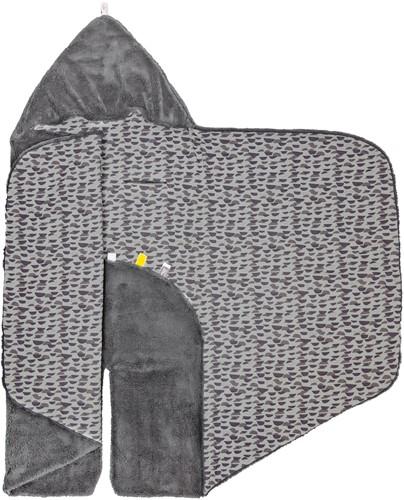 Snoozebaby Wikkeldeken (Trendy Wrapping) - Frost Grey