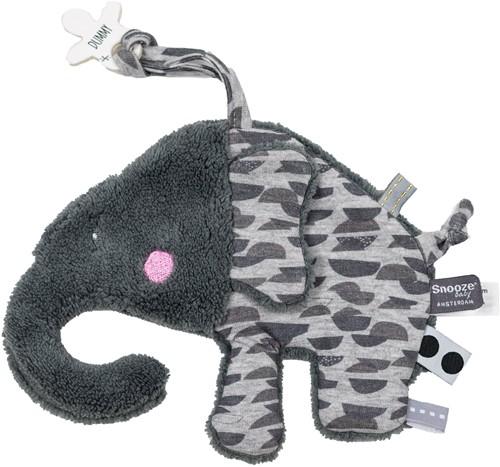 Snoozebaby Elly Elephant - Frost Grey
