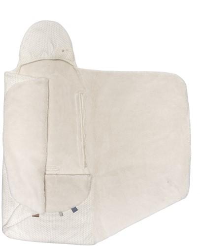 Snoozebaby ORGANIC Wrap Blanket Trendy Wrapping (90x110cm) Stone Beige