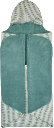 Snoozebaby ORGANIC Wrap Blanket Trendy Wrapping (90x110cm) Smokey Green
