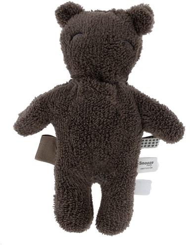 Snoozebaby ORGANIC Billy Bear cuddle Warm Brown