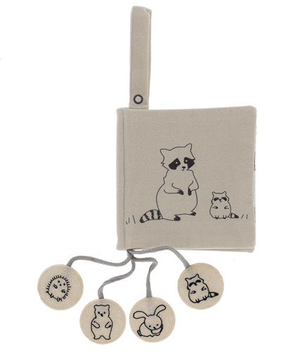 Snoozebaby ORGANIC Activity booklet whose baby? Unisex