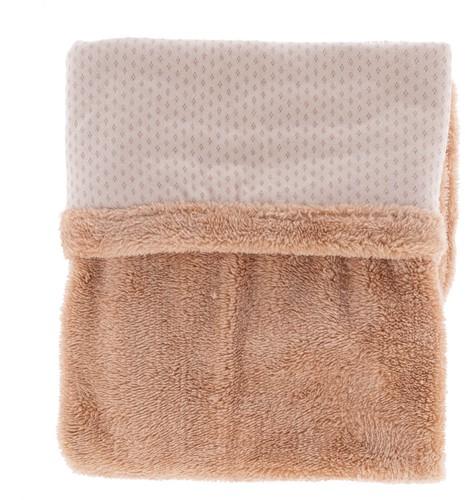 Snoozebaby ORGANIC blanket crib T.O.G. 2.0 Milky Rust 75x100cm