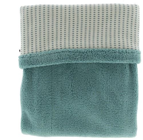 Snoozebaby ORGANIC blanket cot T.O.G. 2.0 Smokey Green 100x150cm