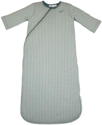 Snoozebaby ORGANIC Sleepsuit Longsleeve 9-24 months TOG 2.0 Smokey Green
