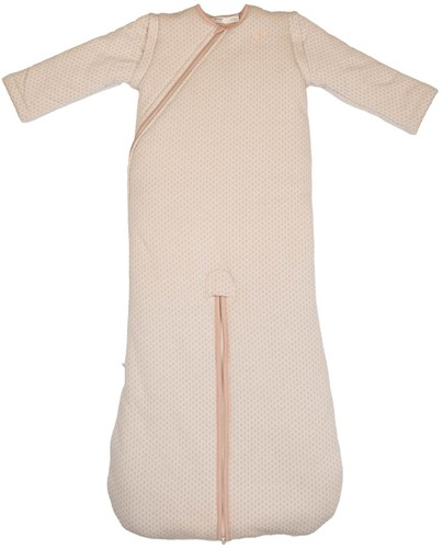 Snoozebaby Sleepsuit four seasons 3-9 months TOG 1.0 - 3.0 Milky Rust, with inner- and outersuit, detachable sleeves
