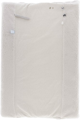 Snoozebaby ORGANIC Changing Cover Happy Dressing (45 x 70cm) Stone Beige