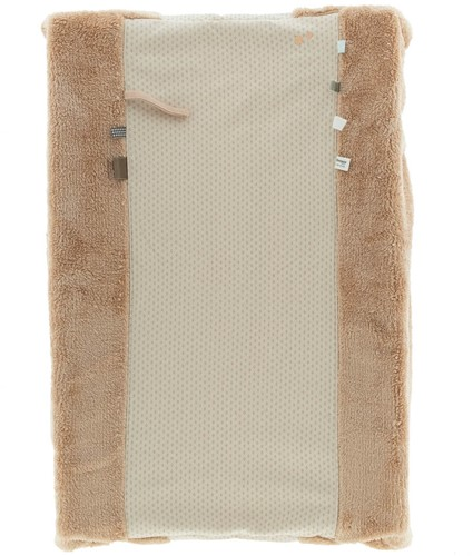 Snoozebaby ORGANIC Changing Cover Happy Dressing (45 x 70cm) Milky Rust