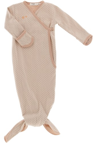 Snoozebaby ORGANIC new born cocoon 3-6 months TOG 1.0 Milky Rust