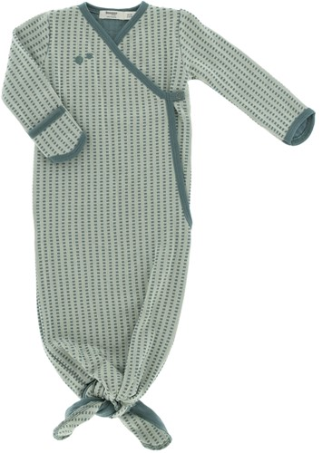Snoozebaby ORGANIC new born cocoon 3-6 months TOG 1.0 Smokey Green