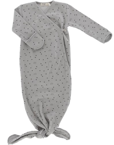Snoozebaby ORGANIC new born cocoon 3-6 months TOG 1.0 Smokey Green Lets Grow