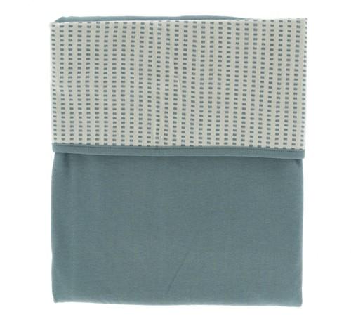 Snoozebaby ORGANIC Blanket crib T.O.G. 1.0 Smokey Green 75x100cm