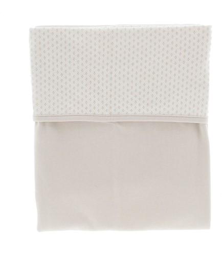 Snoozebaby ORGANIC Blanket cot T.O.G. 1.0 Stone Beige 100x150cm