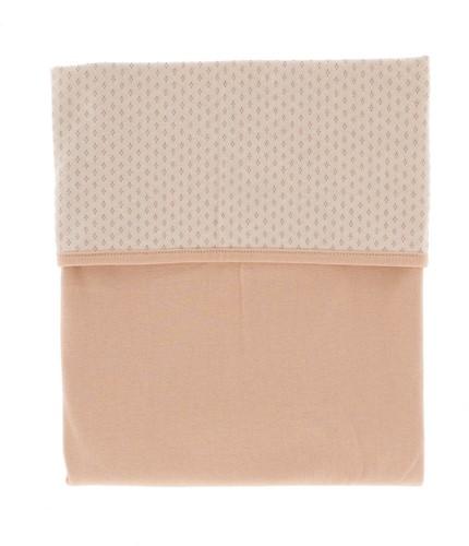 Snoozebaby ORGANIC Blanket crib T.O.G. 1.0 Milky Rust 75x100cm