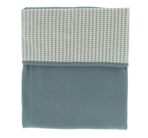 Snoozebaby ORGANIC Blanket cot T.O.G. 1.0 Smokey Green 100x150cm