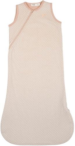 Snoozebaby ORGANIC Sleepsuit Sleeveless 3-9 months TOG 1.0 Milky Rust