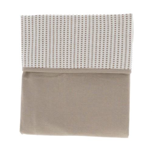 Snoozebaby ORGANIC Blanket crib T.O.G. 1.0 Warm Brown 75x100cm
