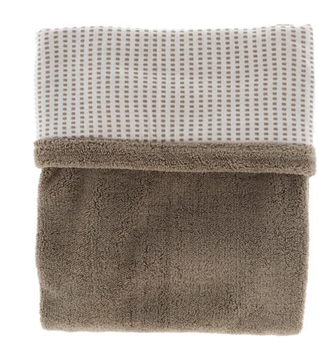 Snoozebaby ORGANIC blanket cot T.O.G. 2.0 Warm Brown 100x150cm
