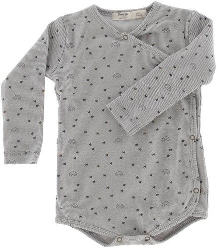 Snoozebaby ORGANIC romper let's grow 62-68 Smokey Green Lets Grow