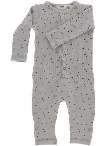 Snoozebaby ORGANIC suit let's grow 62-68 Smokey Green Lets Grow