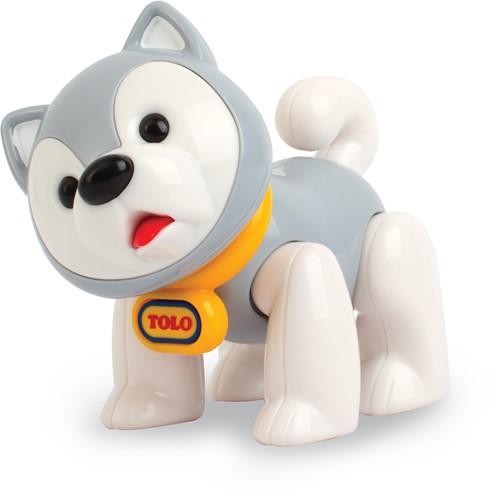 Tolo Toys Husky Dog - Grey