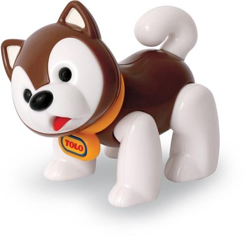Tolo Toys Husky Dog - Brown