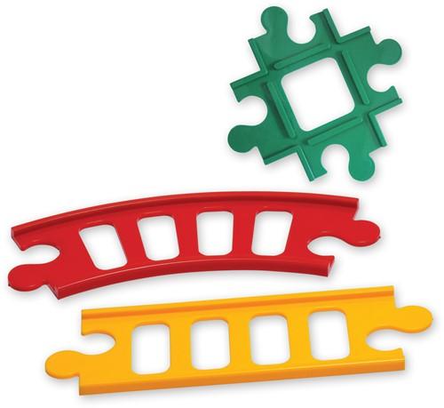 Tolo Toys Train Track (7 pieces)