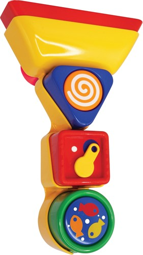 Tolo Toys Bathtime Pour and Spin Shape Sorter