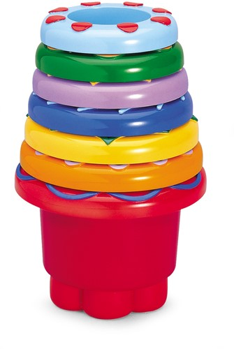 Tolo Toys - Vrolijke Stapelbekers